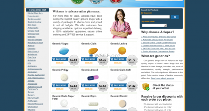 Aclepsa.net Best Online Pharmacy in U.S.