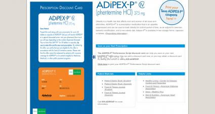 Adipex.org Overseas Discount Pharmacy