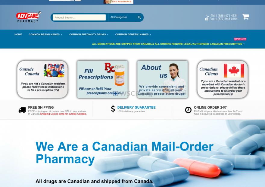 Advpharmacy.com Online Pharmacy