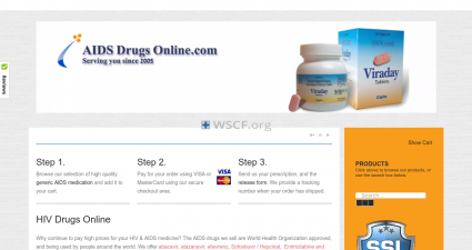 Aids-Drugs-Online.net The Internet Canadian Drugstore