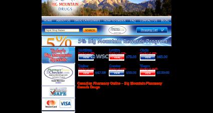Bigmountaindrug.net Overseas On-Line Pharmacy