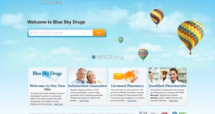 Blueskydrugs.net Online Offshore Pharmacy