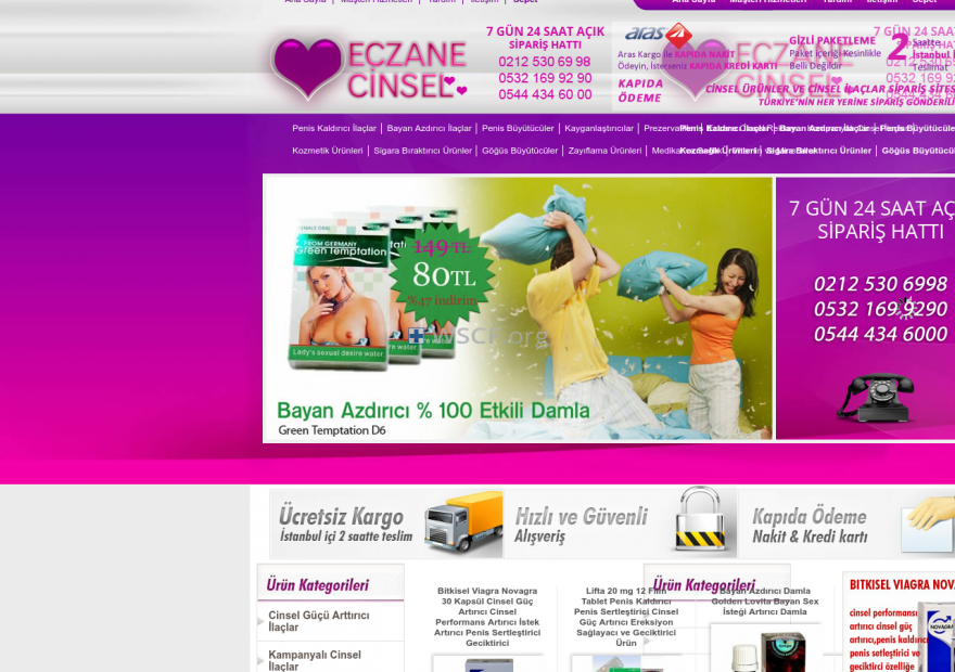 Eczanecinsel.net Best Online Pharmacy in U.S.