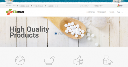 Edmartonline.com Online Pharmacy