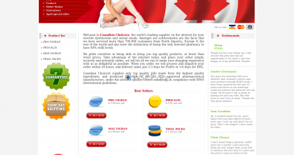 Edtabs-Selection.com The Internet Canadian Drugstore
