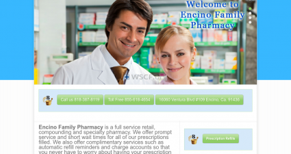 Encinofamilypharmacy.com The Internet Pharmaceutical Shop