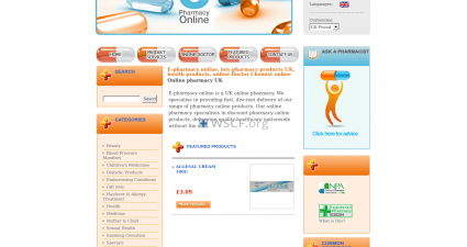 Epharmacy-Online.co.uk International Drugstore