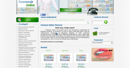 Farmacieonline.md Your One Click Pharmacy