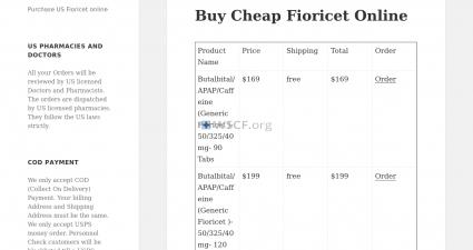 Fioricetbargain.com Overseas Discount Pharmacy