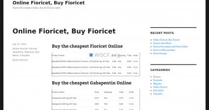 Fioricetrx.net Free Samples