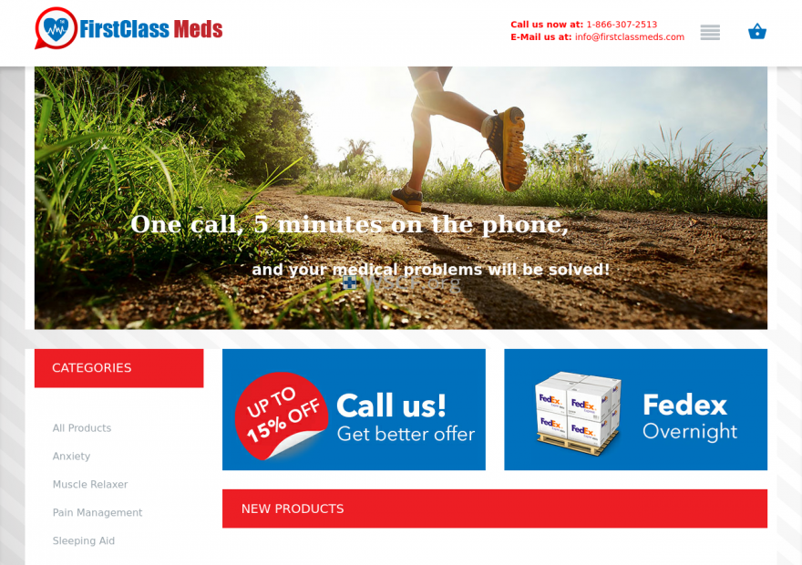 Firstclassmeds.com Discounted Weekly Deals