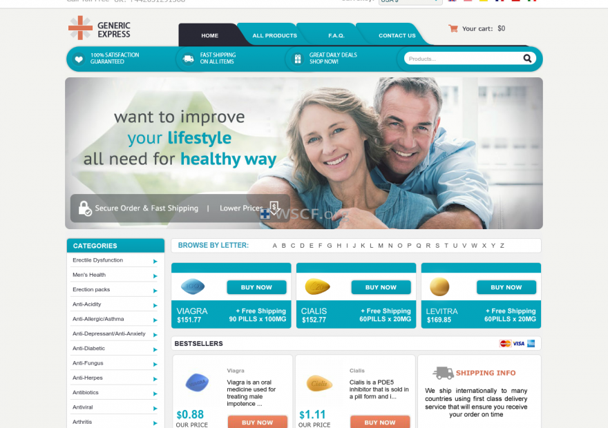 Generic-Express.com Online Pharmaceutical Shop