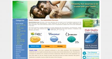 Genericcialisrx.com Drugs Store