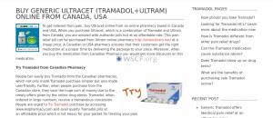 Genericultracet.com Great Internet Drugstore