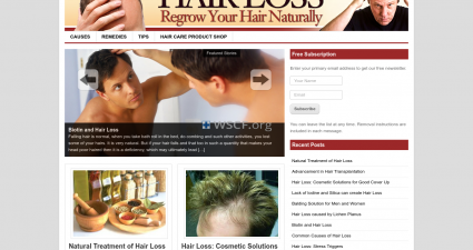 Hairlosssolution.net Overseas On-Line Drugstore