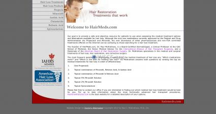 Hairmeds.com Great Internet Drugstore