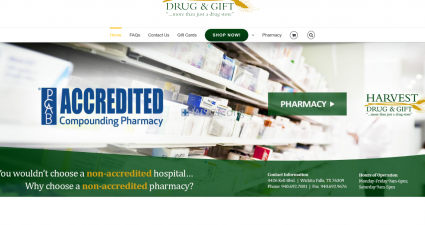 Harvestdrugandgift.com Internet Drugstore