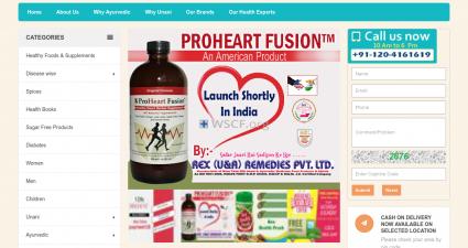 Healthmartindia.com Website Drugstore