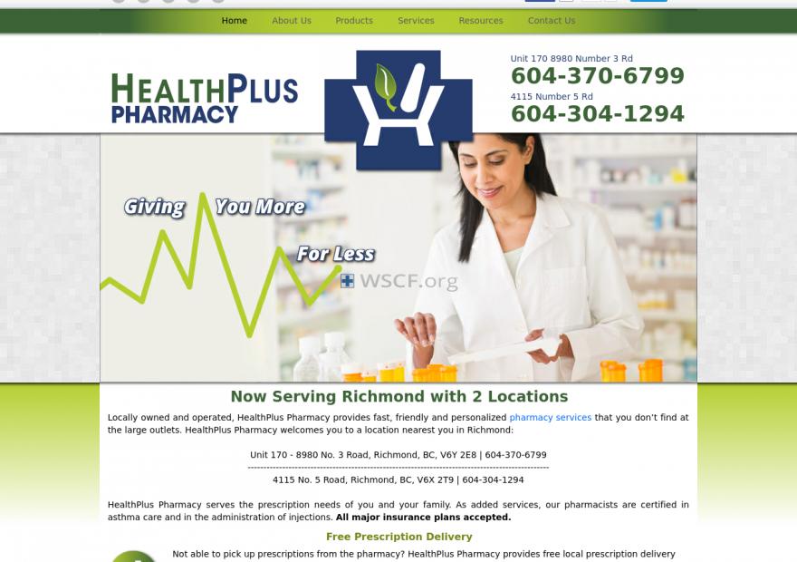 Healthpluspharmacy.net Great Internet Pharmacy