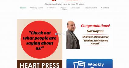 Heartpharmacy.com Website Drugstore