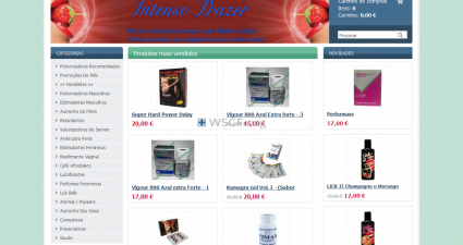 Intenso-Prazer.com Overseas Internet Pharmacy