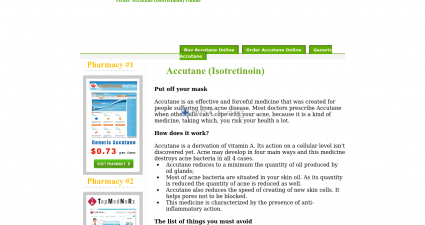 Isotretinoin-Online.org Lowest Price