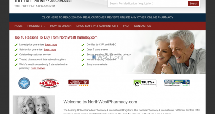 Northweatpharmacy.com Free Shipping On Any Order