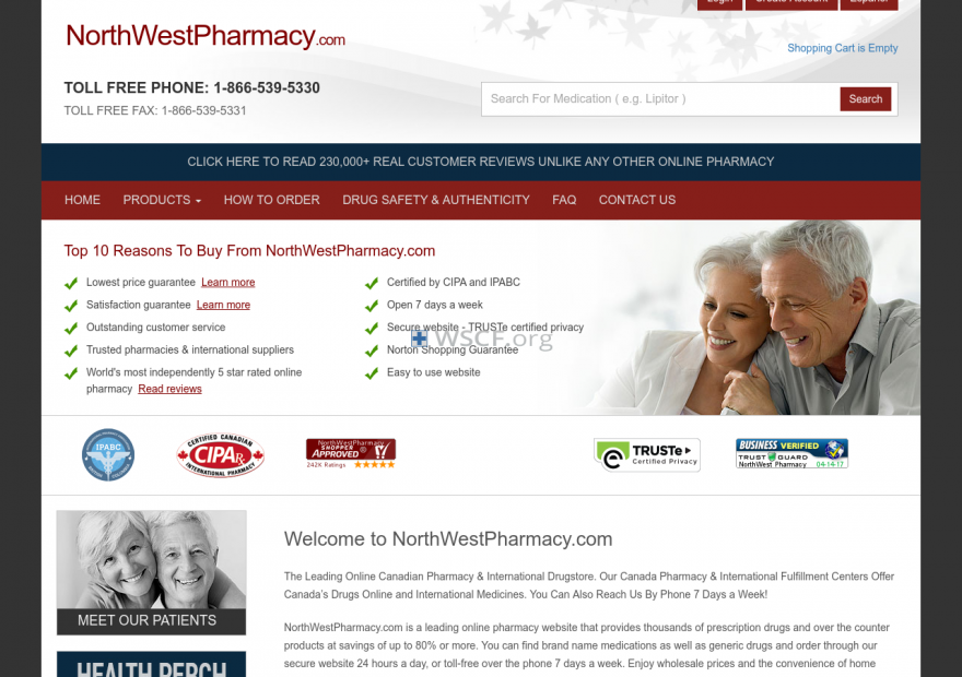 Northwestpharmaacy.com Leading Online Pharmacy