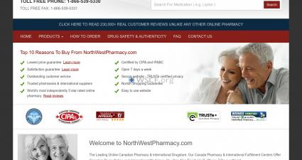Northwestpharmasite.com Online Offshore Drugstore