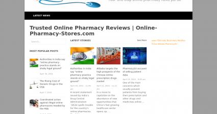 Online-Pharmacy-Stores.com Big Choice Generic Drugs