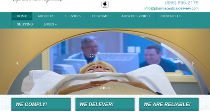 Pharmaceuticaldelivery.com Discreet Package