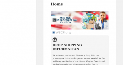Pharmacydropship.net Overseas Discount Drugstore