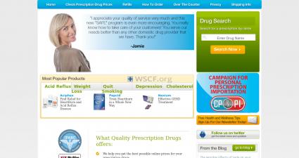 Qualityprescriptionmedications.com Big Choice ED Drugs