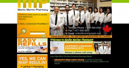 Rxcanada4Less.com Website Pharmaceutical Shop