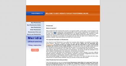 Salephentermineonline.com International Pharmacy