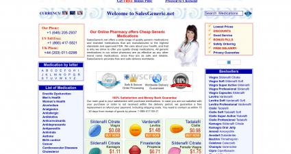 Salesgeneric.net Buy in Bulk And Save
