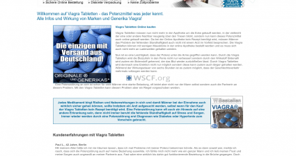 Viagra-Tabletten.com Website Pharmacy