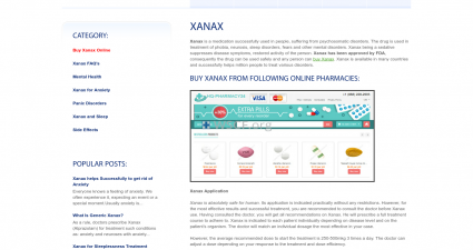 Xanax-Purchase.com Brand And Generic Drugs