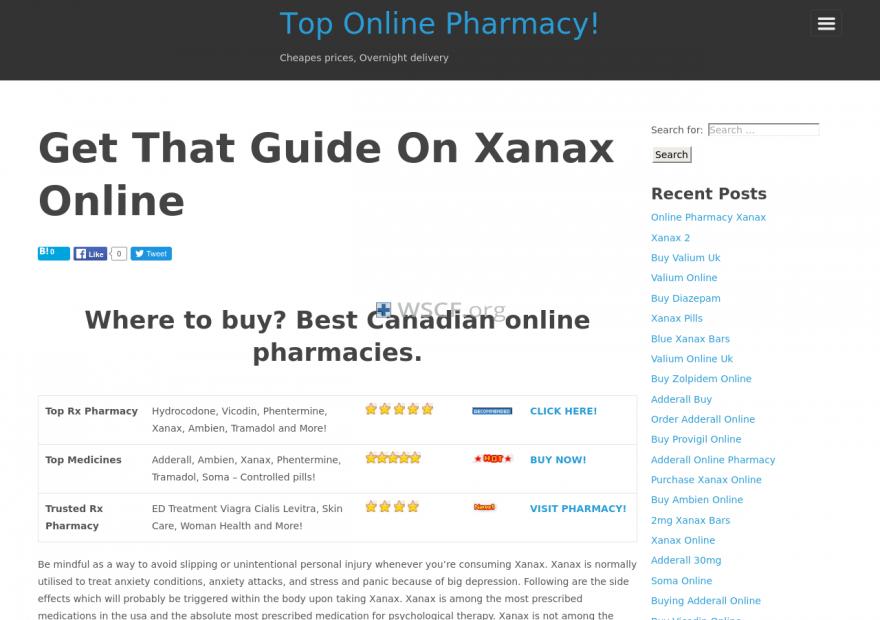 Xanaxonline.net 100% Quality Meds