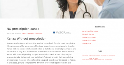 Xanaxwithoutprescription.net Drug Store
