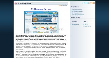 Xlpharmacyreview.com Canadian HealthCare