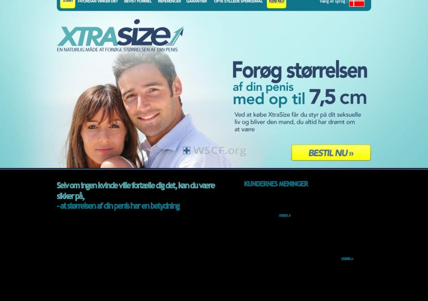 Xtrasize.dk The Internet Canadian Drugstore