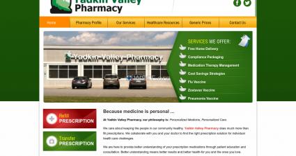 Yadkinvalleypharmacy.com Big Choice Generic Drugs