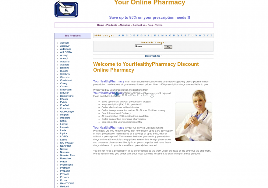 Yourhealthypharmacy.com 24/7 Online Support