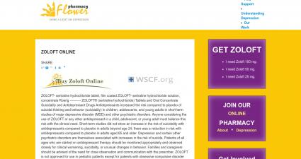 Zoloft-Prescription.com Confidential online Pharmacy.